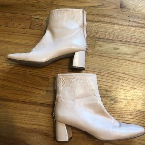 Stuart Weitzman Ankle Boots with Square Toes